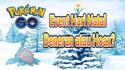 Event Hari Natal di Pokemon Go, Beneran atau Hoax?