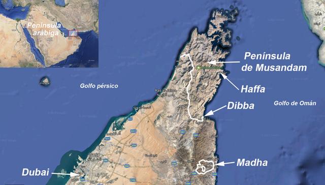 La Península de Musandam, un territorio de Omán en los emiratos