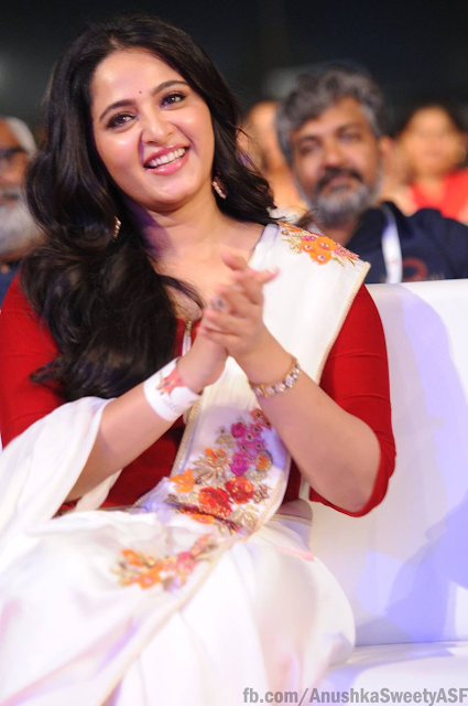 Anushka Shetty at Baahubali 2-The Conclusion Audio Launch