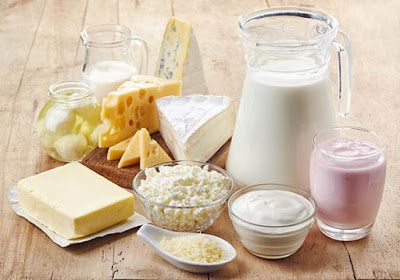 Dairy is rich in vitamin A and the mineral zinc good for eyes
