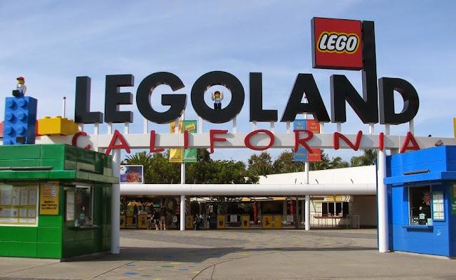 Parque da Lego na Califórnia