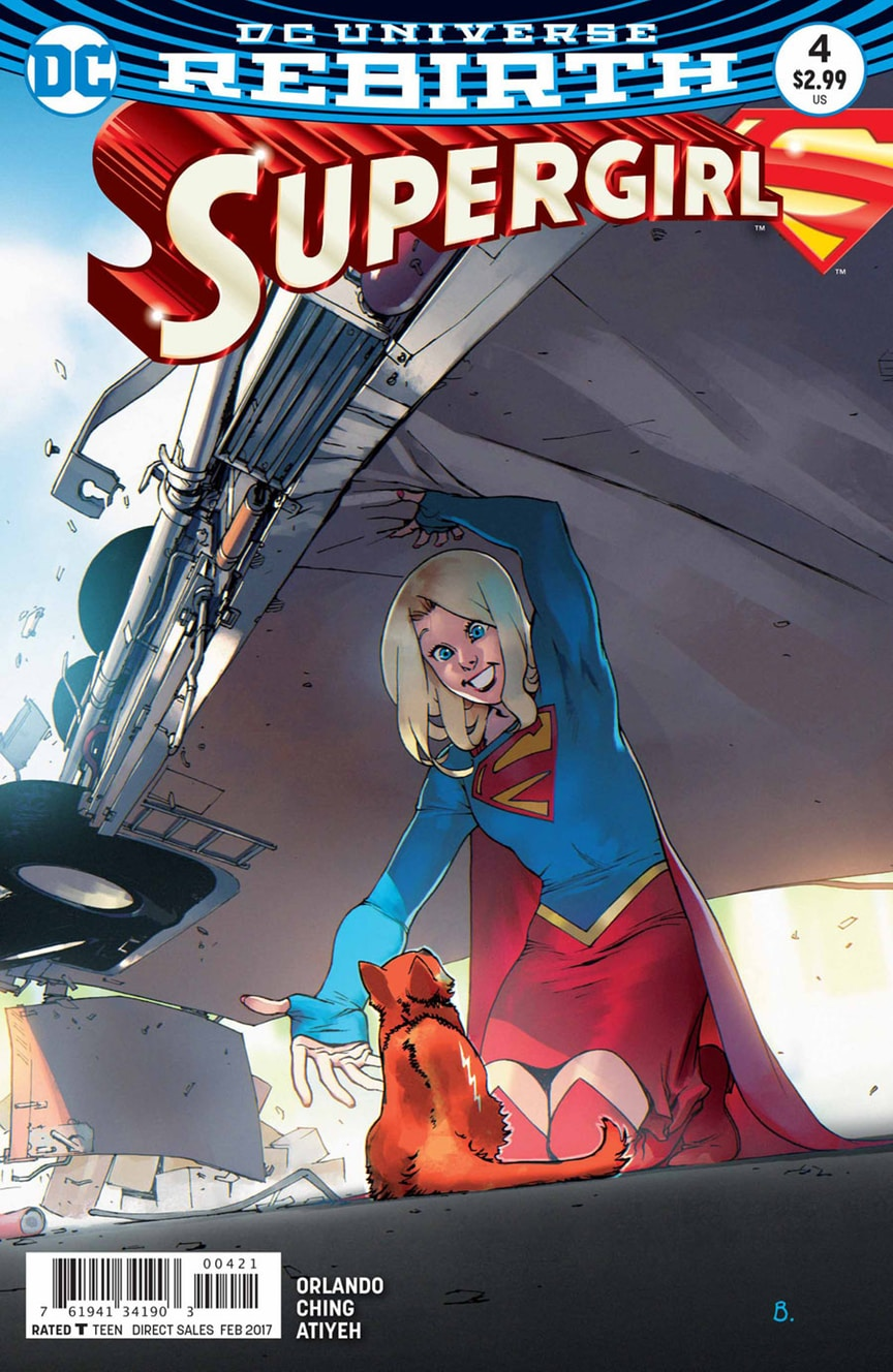 supergirl comic box commentary  review  supergirl  4