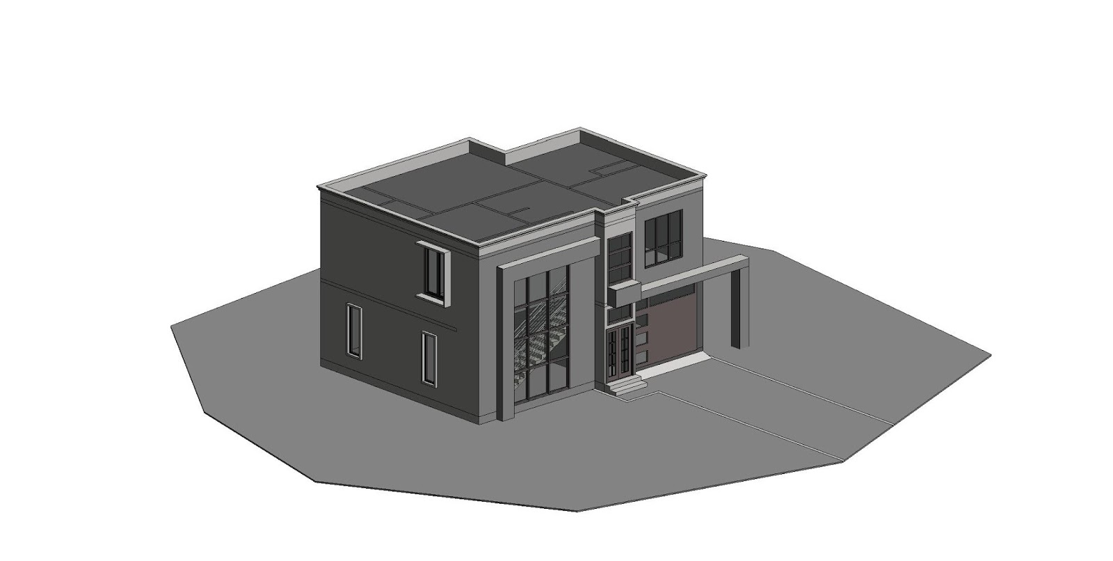 Revit Modern House 2017 Project 2 Cad Needs