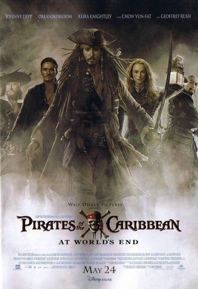 فیلم دوبله: دزدان دریایی کارائیب: پایان جهان (2007) Pirates of the Caribbean: At World's End