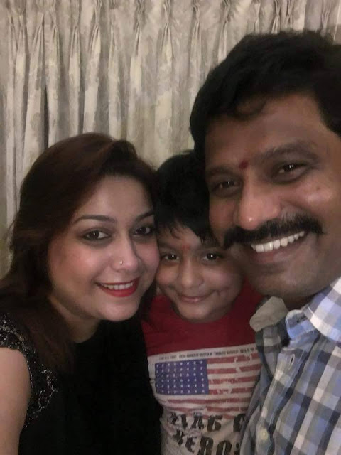 Rakshita Prem lovely family