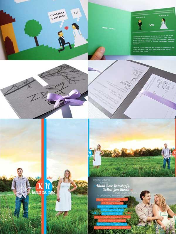 Dekorasi Pernikahan Artikel Contoh Undangan Pernikahan Unik Dan Murah