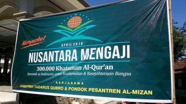 Luar Biasa, lebih dari 278 ribu Hafiz Al Qur'an ikut Nusantara Mengaji