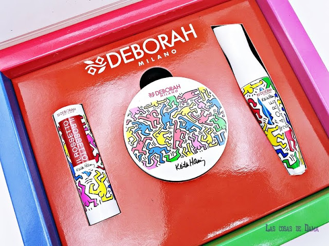 Desing Collection Deborah Milano Keith Haring makeup maquillaje beauty coleccion