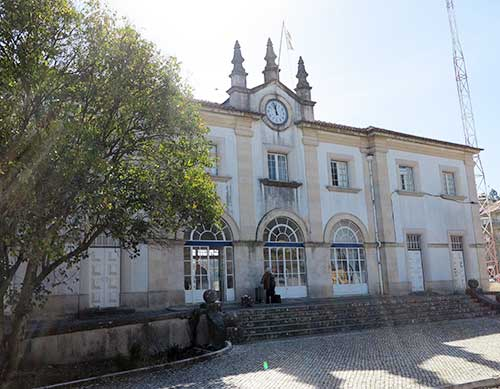 Tomar Station, Tomar, Portugal.