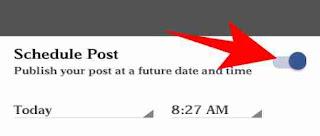 Facebook me schedule post kese kare 3