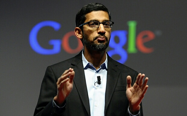 Sundar Pichai CEO of Google