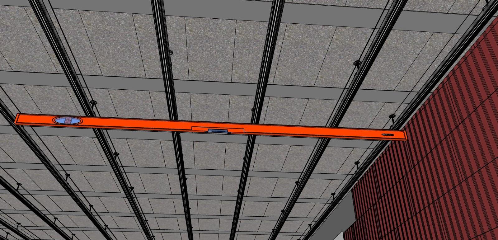 comment faire un plafond suspendu en. Black Bedroom Furniture Sets. Home Design Ideas
