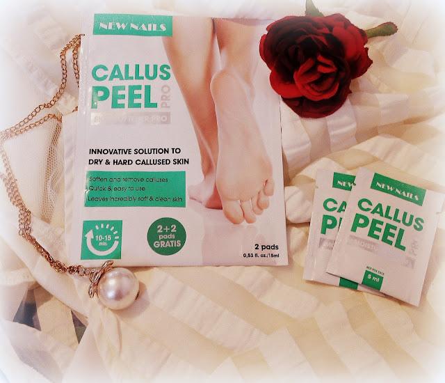 Callus Peel Pro- zafunduj swoim stopom odrobinę luksusu!