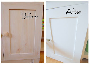 Painting-Laminate-Kitchen-Cabinets-Clean-the-Cabinets