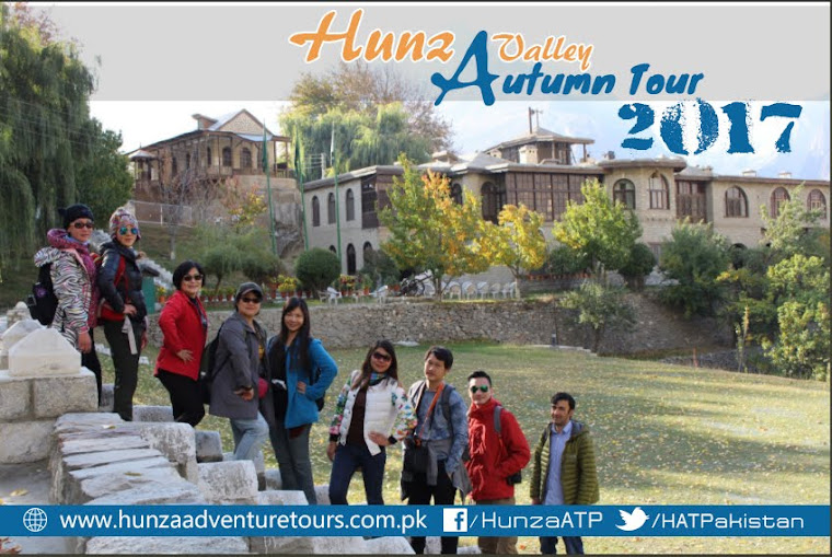 Hunza Valley Autumn Tour 2017