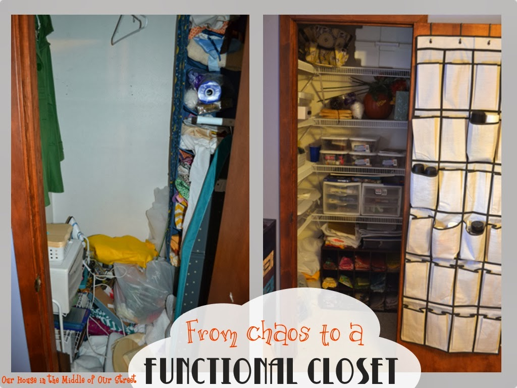 The Addition Of Shelves Really Helped To Maximize Space In This Small Closet When I Posted Project Knew That It Was Still A Long Ways From