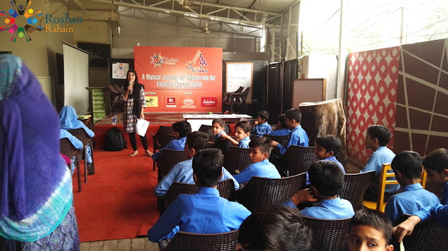 "Jubilee Life extends its support to Roshan Rahain's Financial Literacy Program ""Hisaab Kitaab"""
