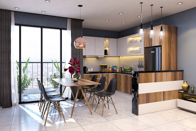 Thiết kế phòng ăn Tabudec Plaza