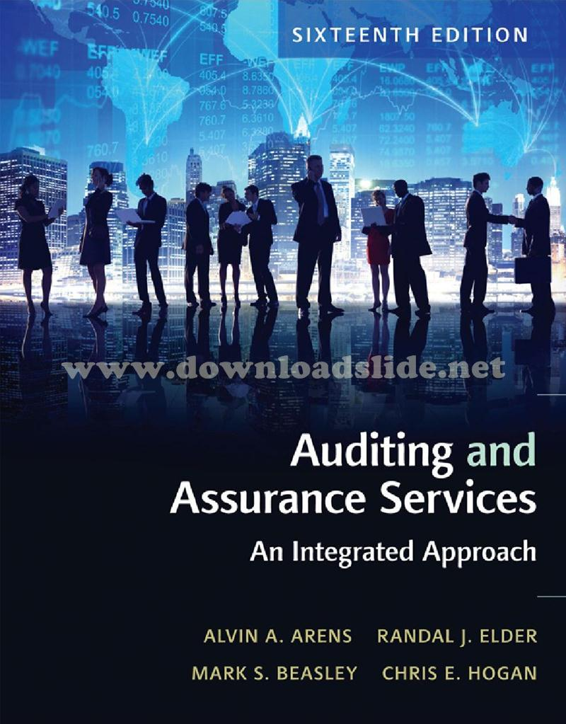 Downloadslide download slides ebooks solution manual and download ebook auditing and assurance services 16th edition by arens elder beasley fandeluxe