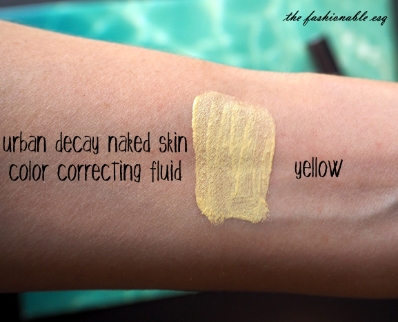 Urban Decay Color Corrector in Yellow to brighten dull skin