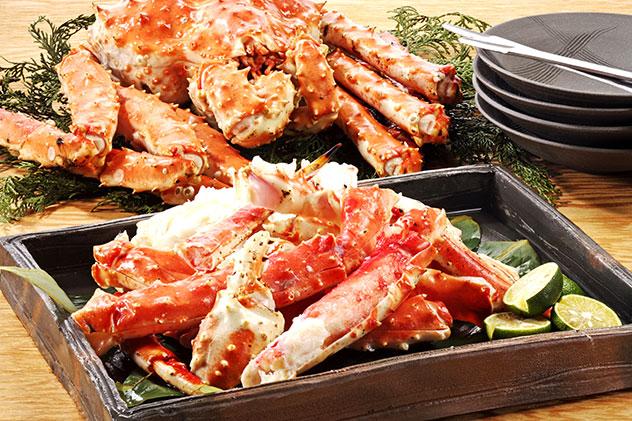 长脚蟹 - 无限量吃到饱 Eat All The Crabs You Can