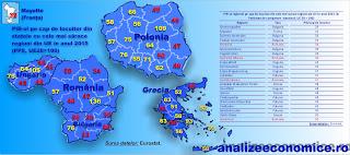 Cele mai sărace regiuni din UE