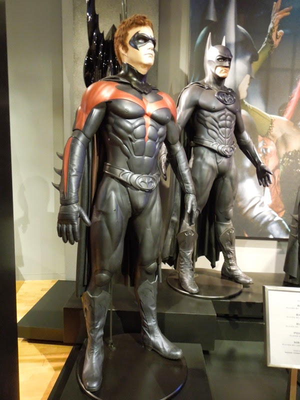 Chris O'Connell George Clooney Batman Robin movie costumes