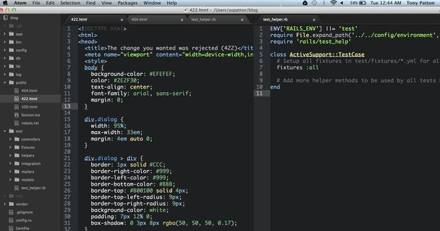 atom text editor best sublime text alternative