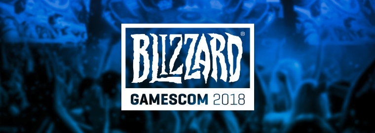 BLIZZARD EN LA GAMESCOM 2018