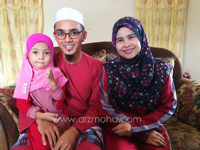 Gambar raya 2016 Blogger Malaysia, aktiviti di pagi raya, perkara sunat di hari raya,  raya tanpa kedua ibubapa, senyuman raya, seindah Syawal, kosong kosong, berikan masa, gambar keluarga raya,