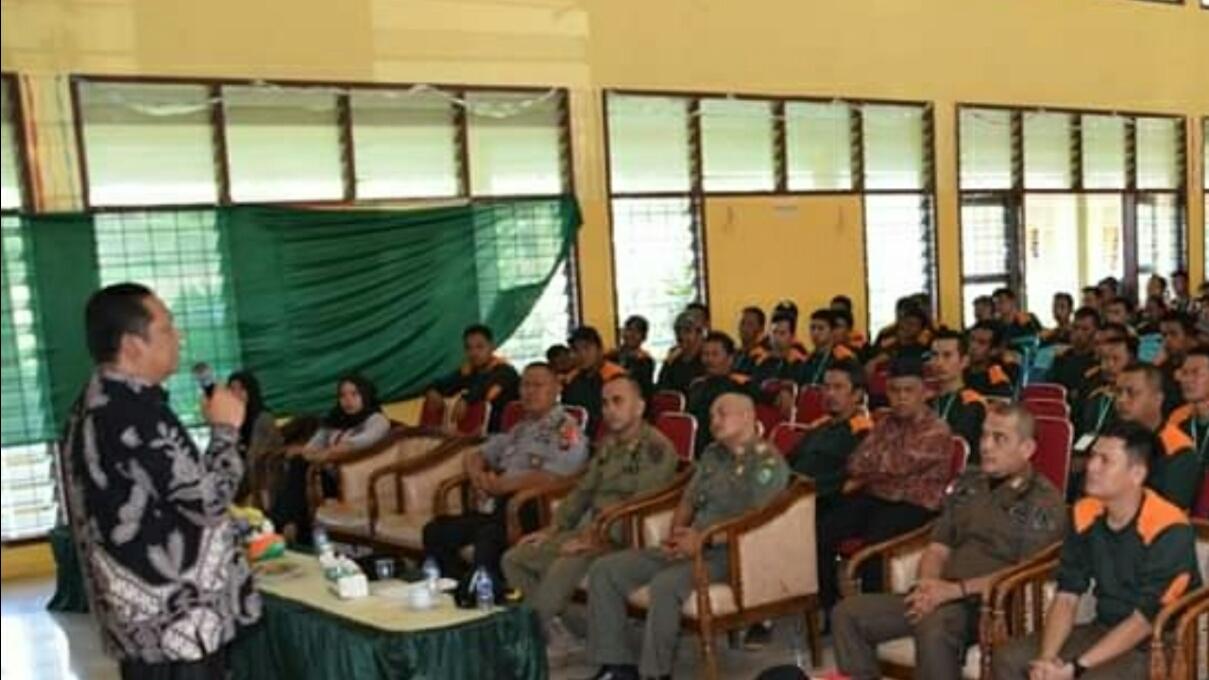 Walikota Padangsidimpuan Buka Diklat Pemantapan Pengamanan Pemilu 2019