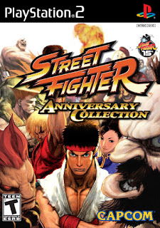 Street Fighter Anniversary Collection NTSC PS2
