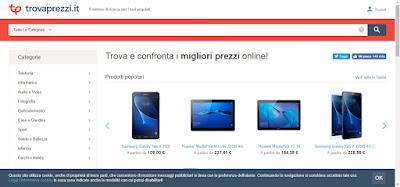sito Trovaprezzi