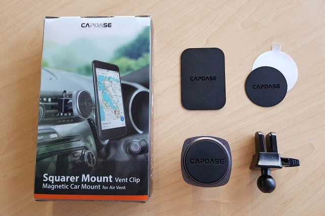 Capdase Squarer Magnetic Car Mount Review