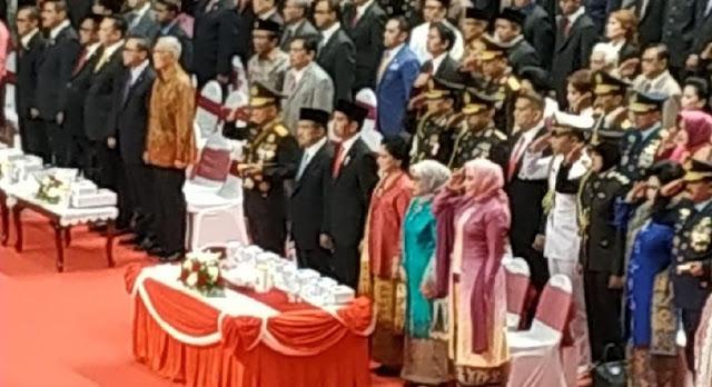 Jokowi Jadi Inspektur Upacara HUT ke-72 Bhayangkara