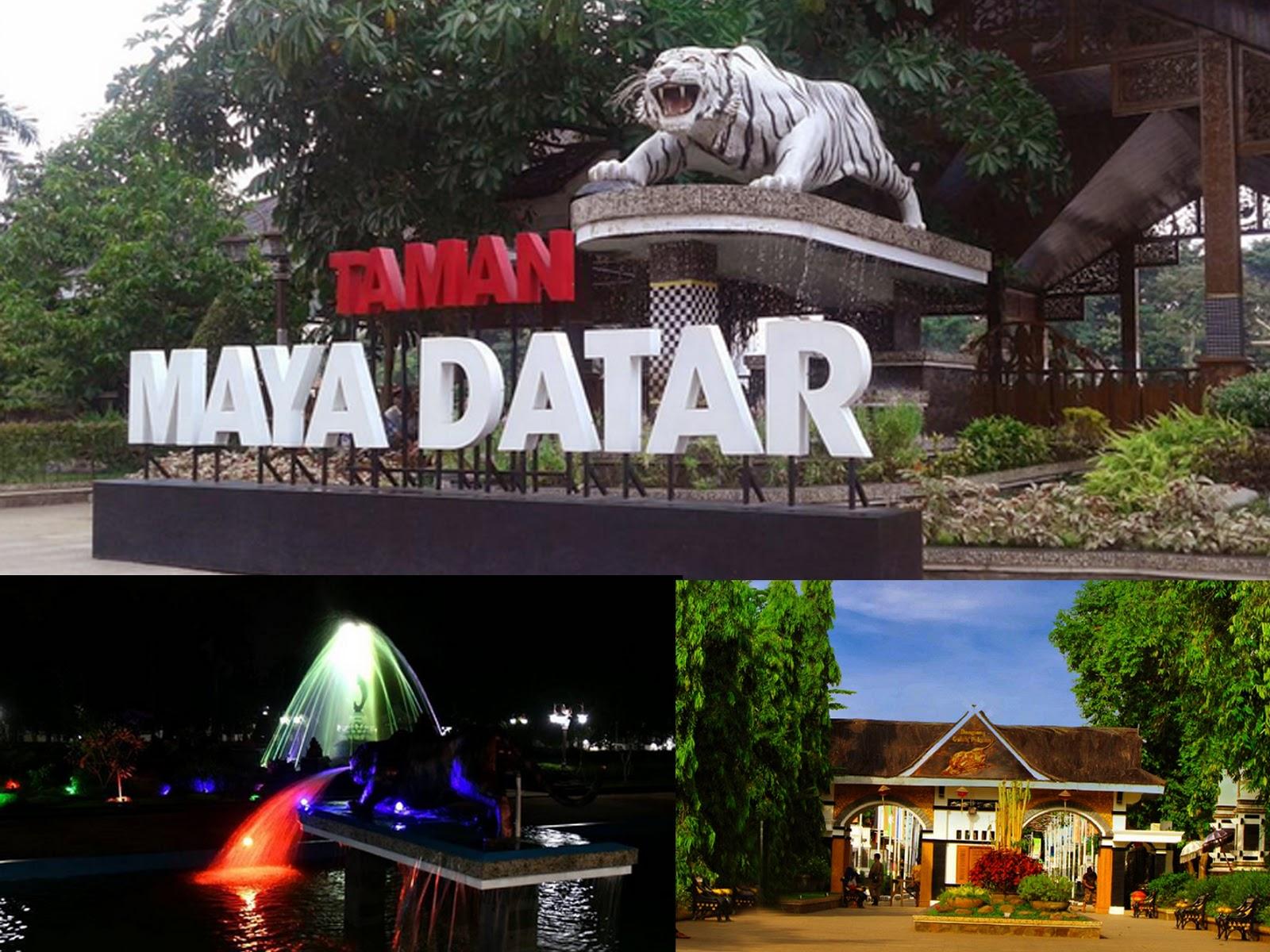 Pesanggrahan Pajajaran Taman Maya Datar Purwakarta