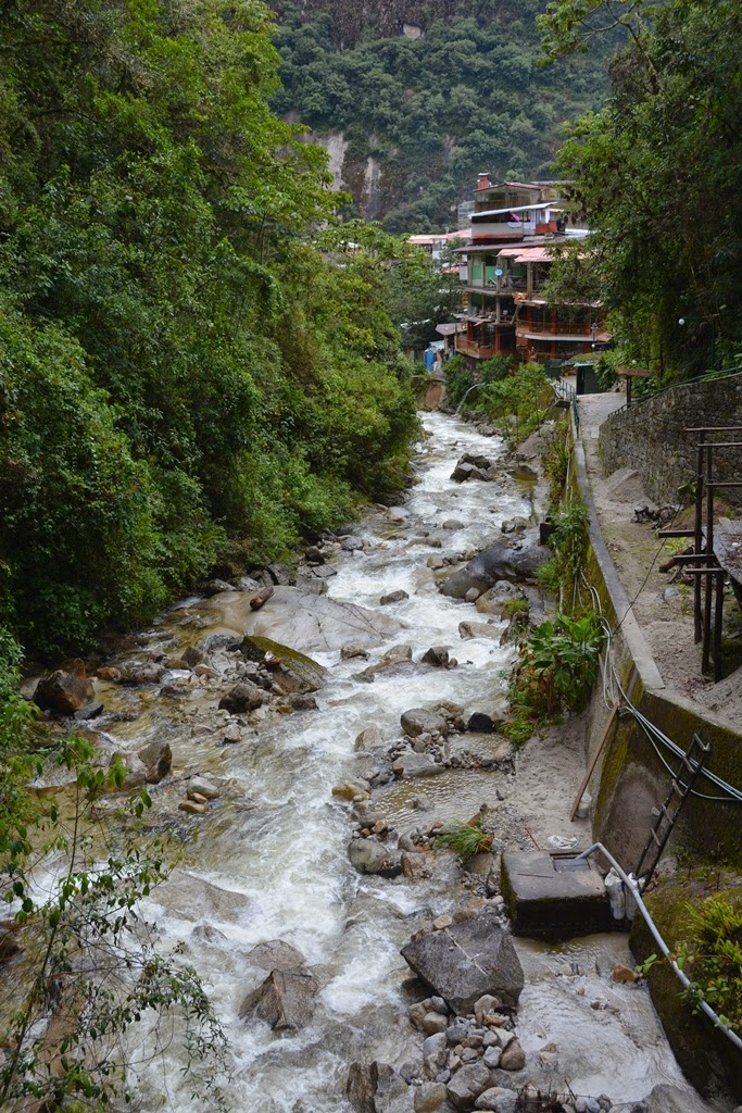 Hot Springs at Aguas Calientes
