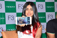 Bollywood Actress Adah Sharma Pos in White Printed Short Dress at OPPO F3 Plus Selfie Expert Mobile Launch .COM 0090.jpg