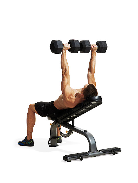 Best Chest Exercises of All Time - 30 Exercise - Incline Dumbbell Press