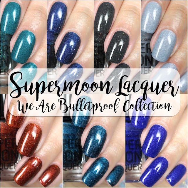 Supermoon Lacquer - We Are Bulletproof: Wings Edition Collection | Swatches & Review