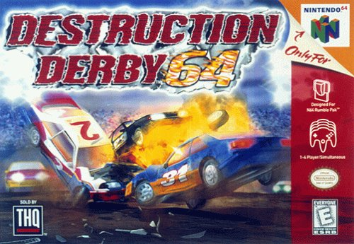 Top 10 Greatest N64 Racing Games - Destruction Derby