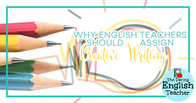 Why students need to do creative writing