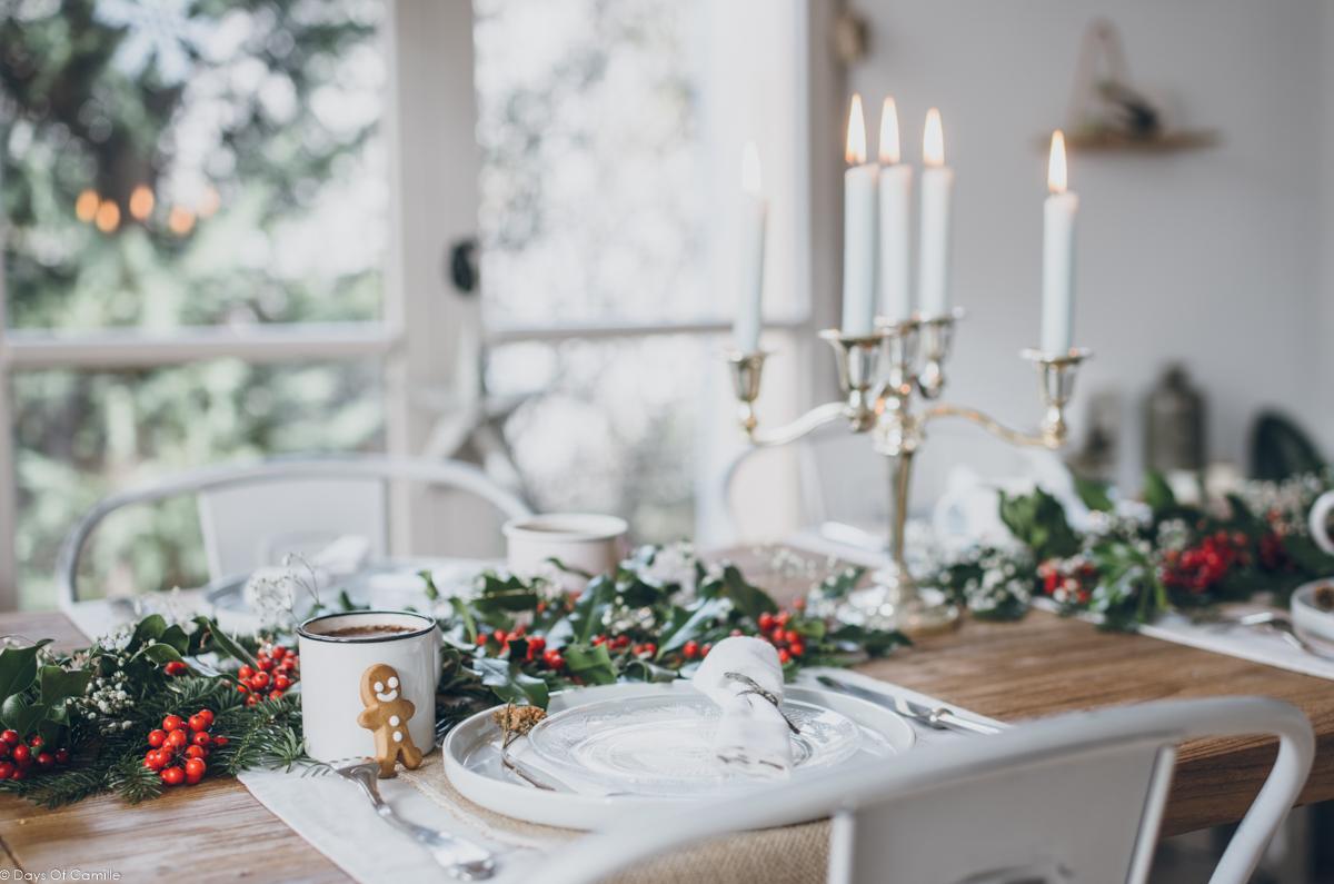 Une table pour Noël / Holidays #3