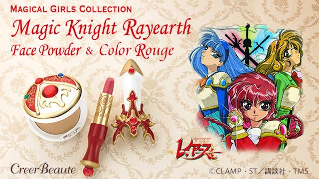 Magic Knight Rayearth inspira linha de cosméticos