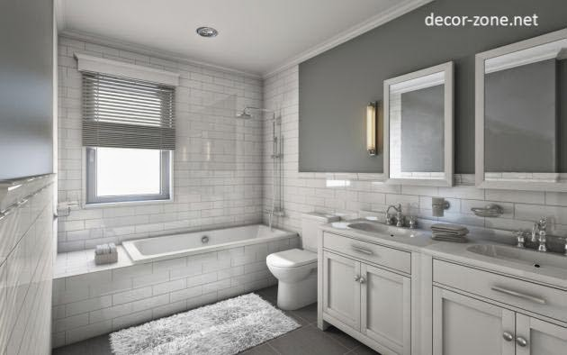 most popular bathroom paint color ideas and combinations ...