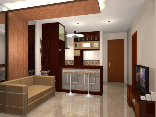 Interior rumah desain interior minimalis modern idaman for Foto interior design