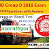 Railway GROUP-D Exam Asked General Science Questions  PDF in Hindi (18-09-2018)