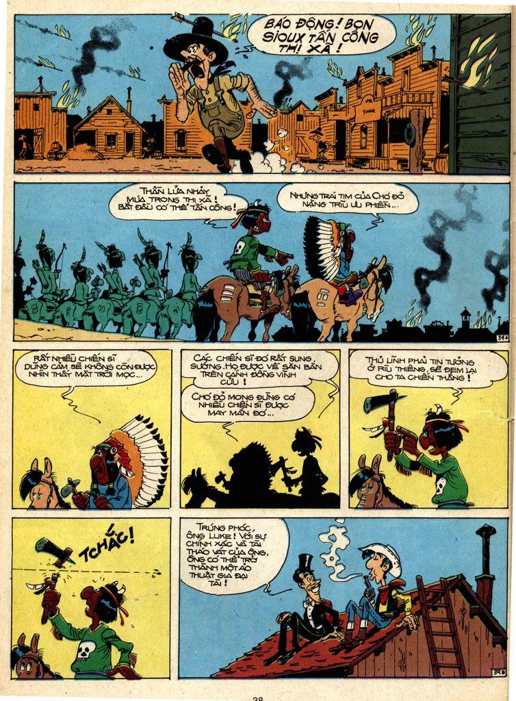 Lucky Luke tap 1 - ban tay nham trang 33