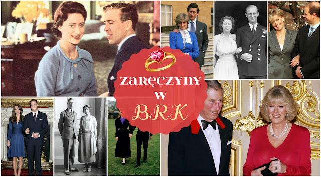 Zaręczyny w Brytyjskiej Rodzinie Królewskiej na przestrzeni lat