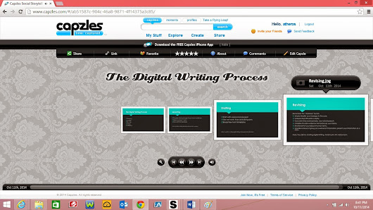 The Digitial Writing Process